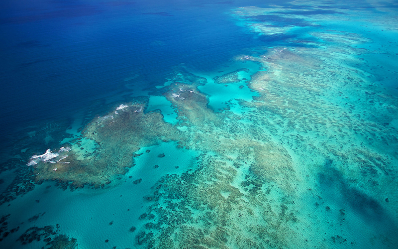 Queesnland is the gateway to The Great Barrier Reef